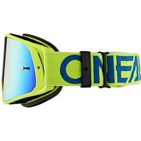 O'Neal B-20 Goggles flat hi-viz/blue-radium